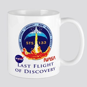 Last Flight Of Discovery Mug Mugs